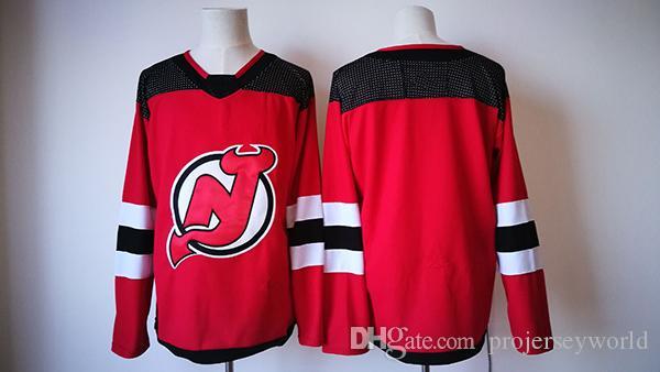 2017-2018 Season New 30 Martin Brodeur New Jersey Devils Jerseys Stitched Men Hockey Jersey Red S-3XL