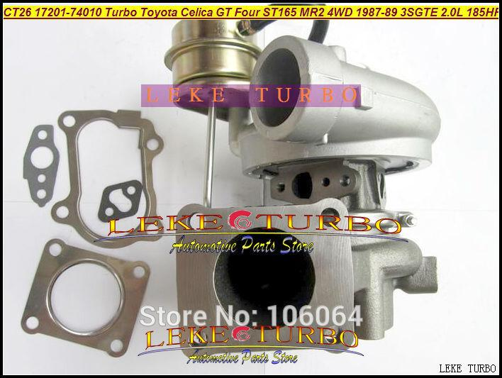 CT26 17201-74010 Turbo Turbocharger For TOYOTA Celica GT Four ST165 MR2 4WD 1987-89 3SGTE 2.0L 185HP 204HP (4)