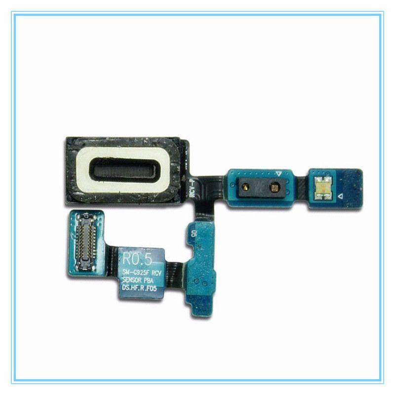 Original New Replacement Parts for Samsung Galaxy S6 Edge G925F G925 Earpiece Speaker Ear piece Earphone Buzzer Flex Cable