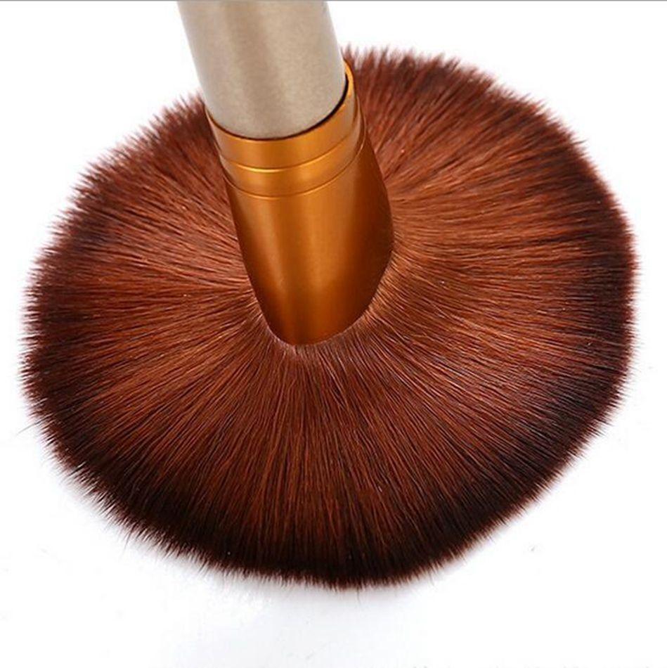 CALIENTE ! La nueva moda pinceles de maquillaje cepillo profesional caja de lata