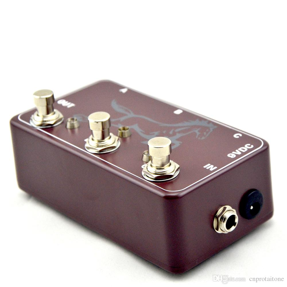 Looper-Guitar Loop Pedal Board-True Bypass- Guitare Effects Brown pedal switch For Electric Guitar Guitar Parts Accessories
