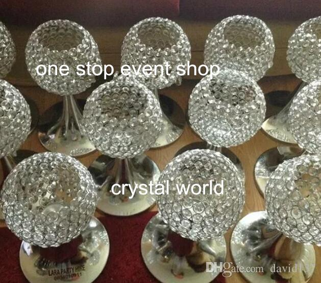 acrylic centerpieces , crystal wedding flower stand