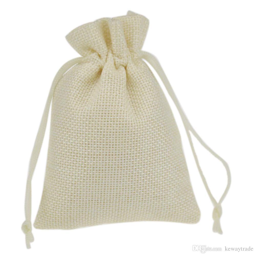 Discount 9x12cm Printed Jute Bag Burlap Bag Gift Bag Linen Gift Bag ...