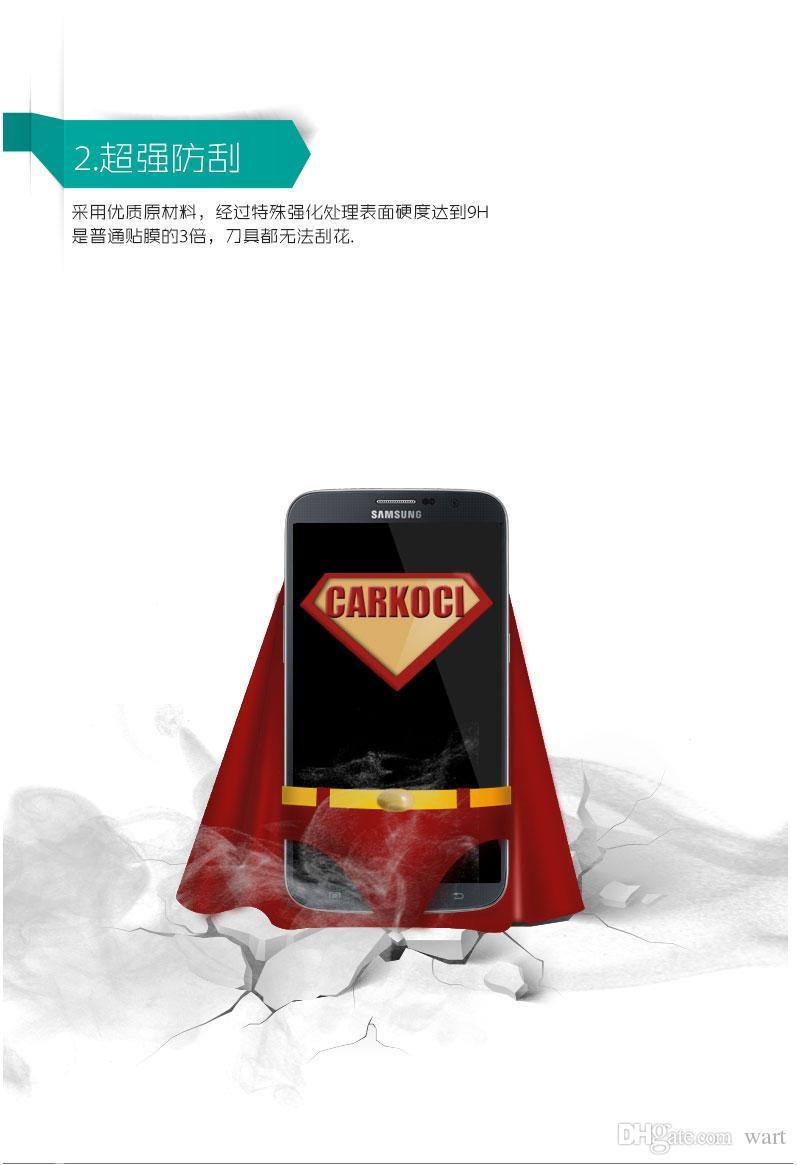hohe Qualität Universal Universal Handy Film Glasfolie Schutzfolie Großhandel Stahl-Stahlfolie Universal Universal