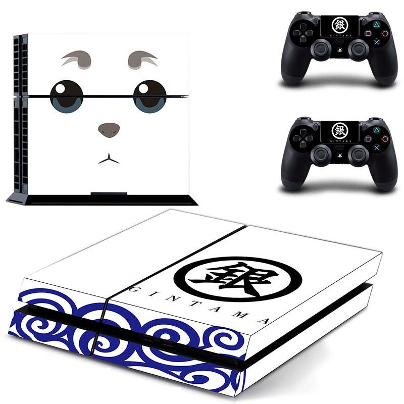 2018 gintama ps4 sticker vinly skin 2 controller skins gin tama ps4 decal stickers for ps4 system playstation 4 console from zanlingling 8 05 dhgate