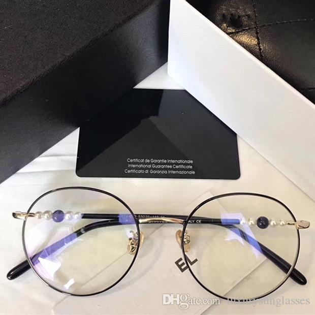 642d22f59da Luxury Popular 22225 Glasses Fashion Women Brand Designer Round ...