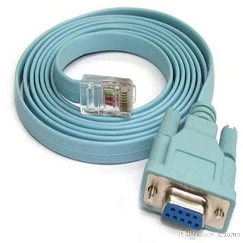 Großhandel Neues Konsole Kabel 6ft Rj45 Zu Db9 Rj45 Serielles Kabel ...