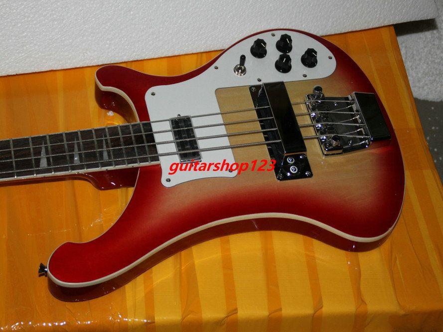 bass guitar new arrival cherry burst 4 strings 4003 electric bass high quality cheap bass guitar. Black Bedroom Furniture Sets. Home Design Ideas