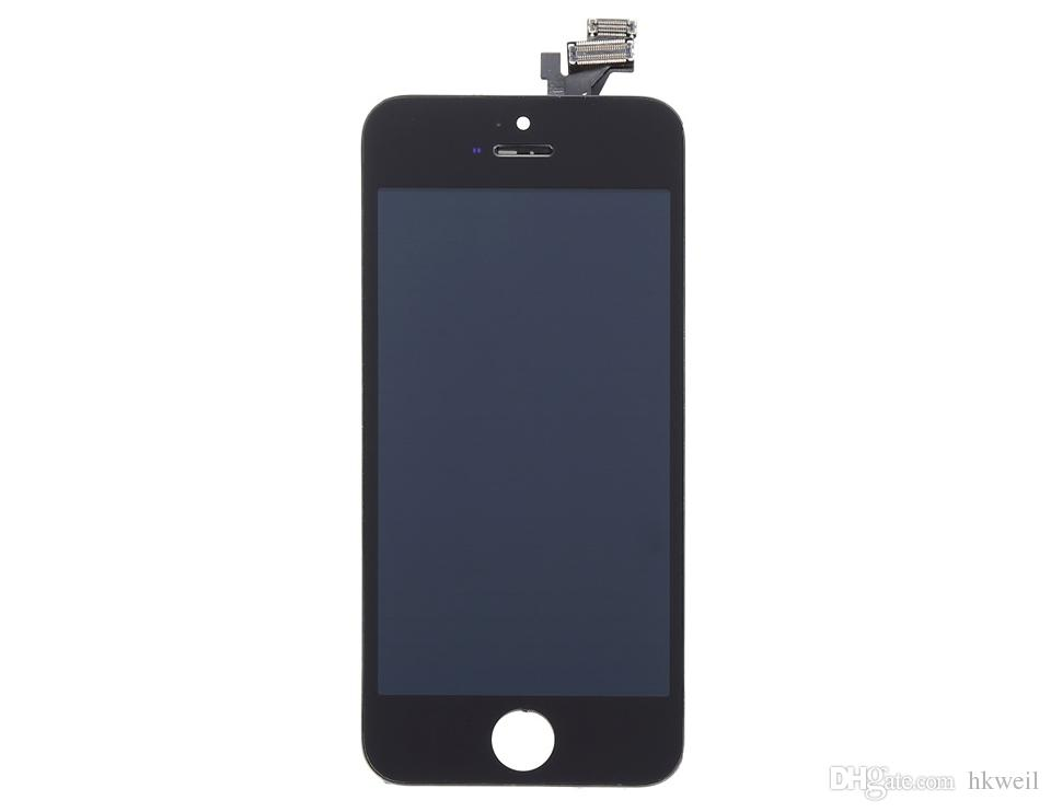 LCD Display Touch Screen For Apple Iphone 5S SE Assembly Replacement Screen Digitizer With Tempered Glass Tools