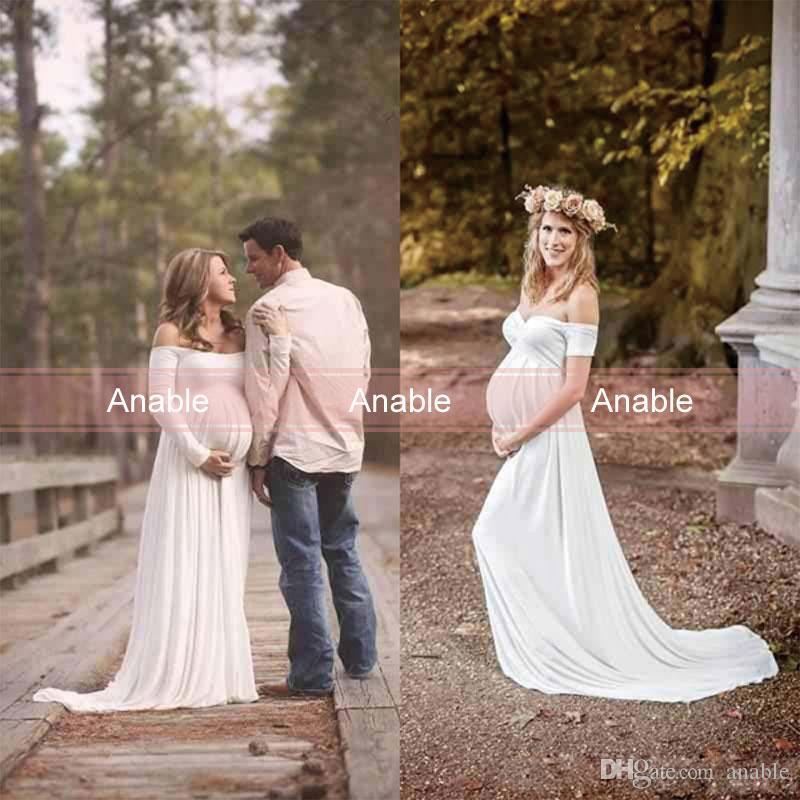 Discount Vestido De Novia New 2018 Cheap Maternity Wedding Dresses ...
