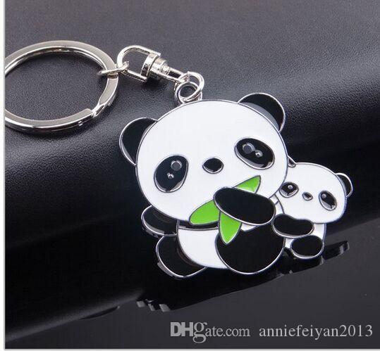 Valentinstag / Geburtstag / Weihnachten / Hochzeitsgeschenke Tour Souvenir Show Kleine Geschenke Cute Cartoon Tier Panda Schlüsselanhänger Car Bag Mobile Anhänger