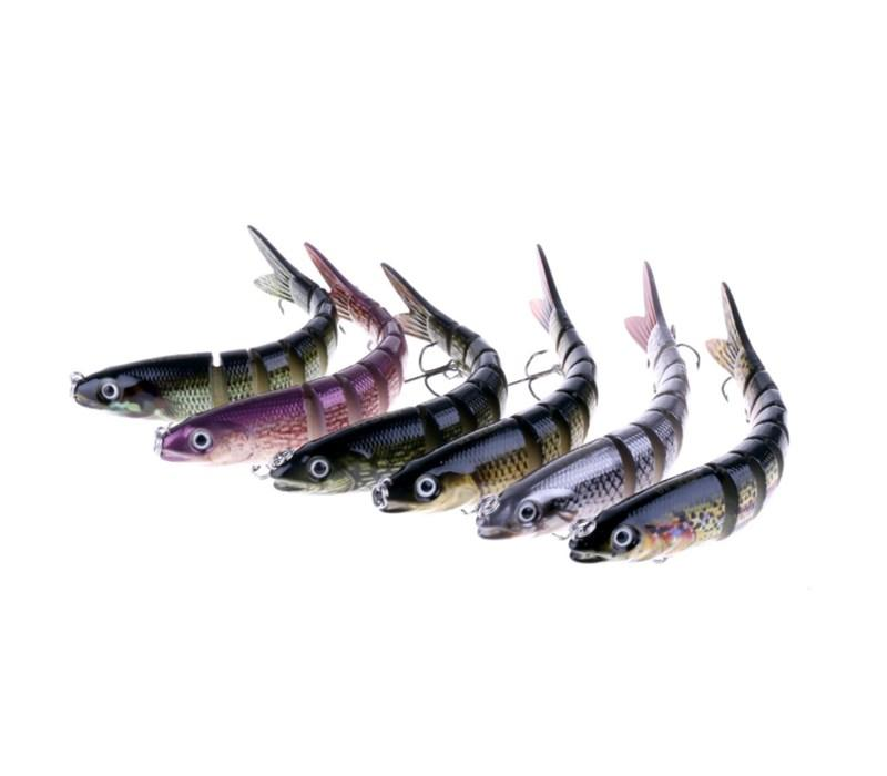 2018 2017 New Design Mullet Plastic Fishing Lures Pike
