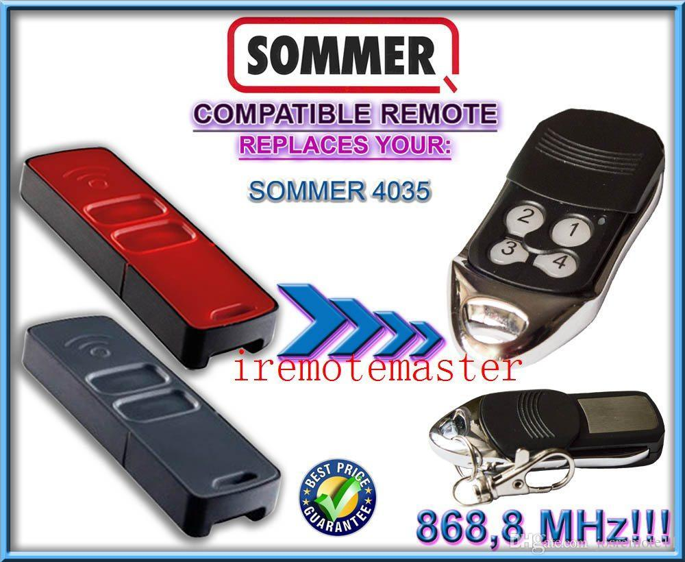 For Sommer 4035 Compatible Remote Control Garage Door Opener