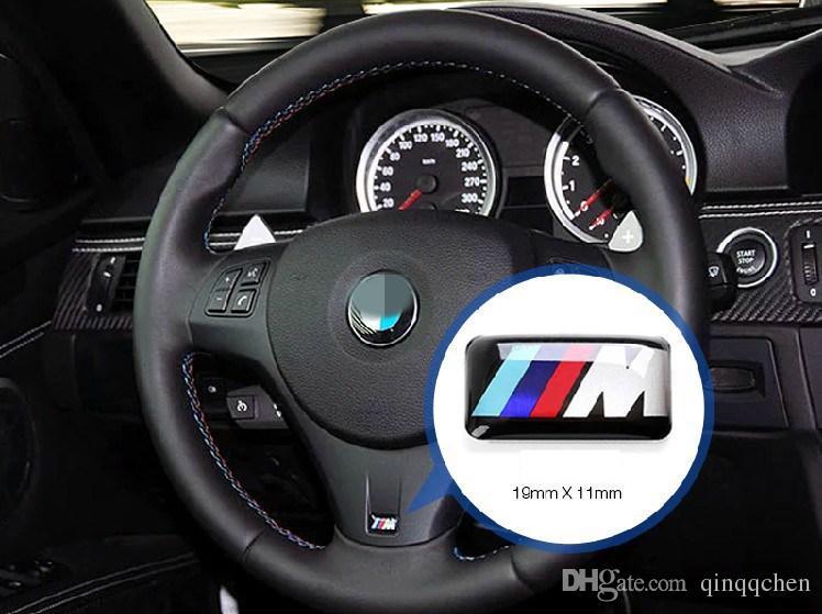 Tec Esporte Emblema Da Roda 3D Emblema Adesivo Decalques Logotipo Para bmw M Série M1 M3 M5 M6 X1 X3 X5 X6 E34 E36 E6 estilo do carro adesivos
