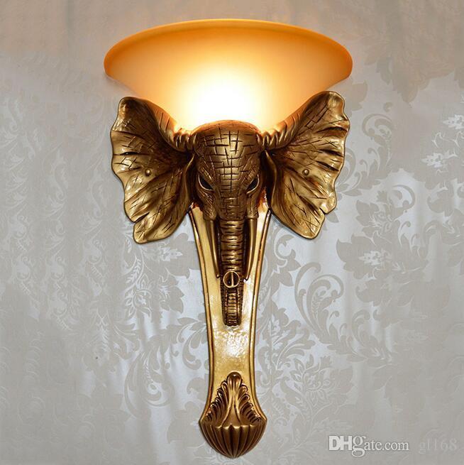 See larger image & 2018 Tantop New Elephant Animal Design Led Wall Lamp Wall Light ...