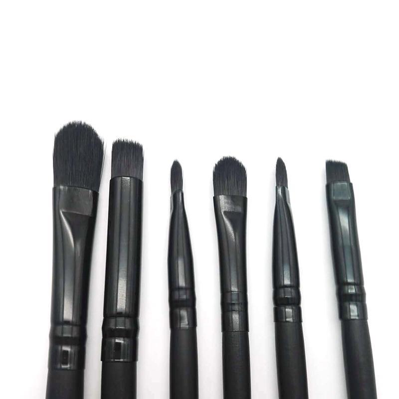 / set ELF Set di pennelli trucco Crema la faccia Spazzole fondotinta Cosmetici multifunzione Attrezzi cosmetici Pennelli neri Set trasporto veloce