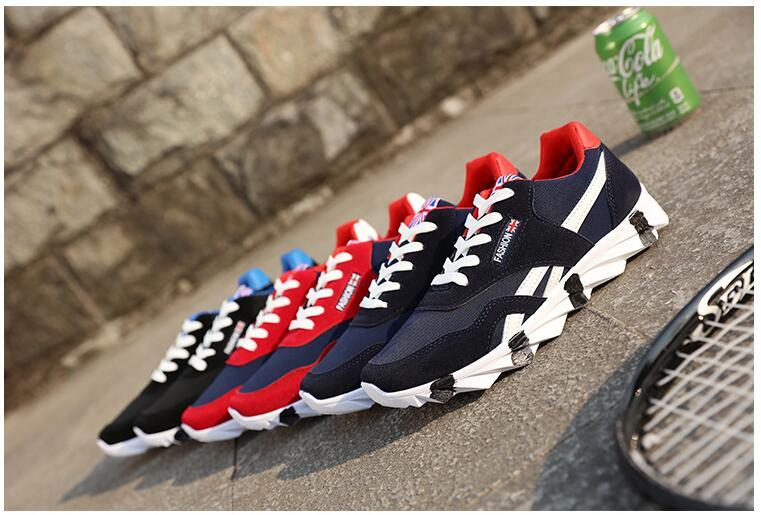 Spring and autumn fashion men's shoes. Casual shoes. Fashion canvas shoes. Ventilated shoes. Running shoes. Men's Shoes. Gym shoes.