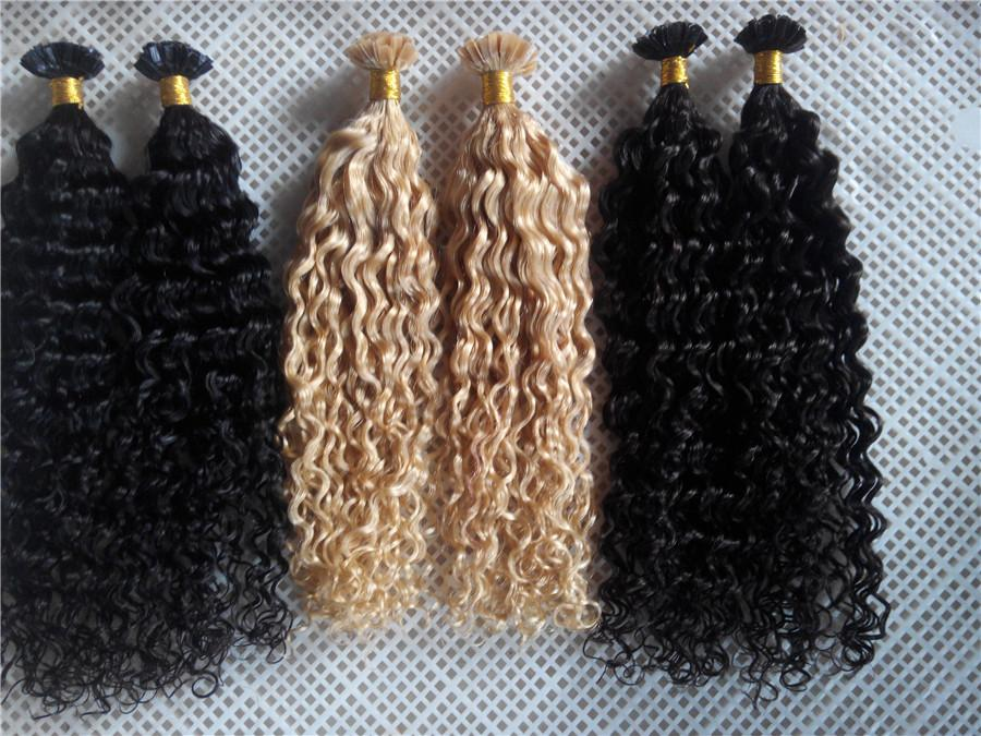 New Style Products 14 28 100g Deep Curlyhair V Tip Probonded Hair