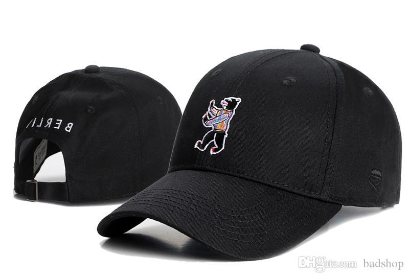 Black Cayler  Sons Snapback Hats Bear Cartoon Hiphop Snapback Caps Brand  Designer Adjustable Baseball Caps Cartoon Dancing Grizzly Bear Cheap Hats  ... b3781240eaf