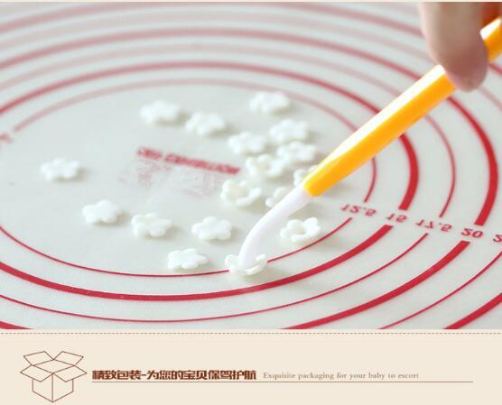 Gâteau couteau à découper sculpture Décoration Fleur Fondant Modélisation Artisanat Argiles Sugarcraft Outil Cutter ensemble de