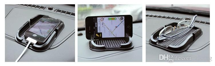 Multi-functional car Anti Slip pad PU gel Mobile Phone Shelf Non slip Mat For GPS/IPhone/ Cell Phone Holder