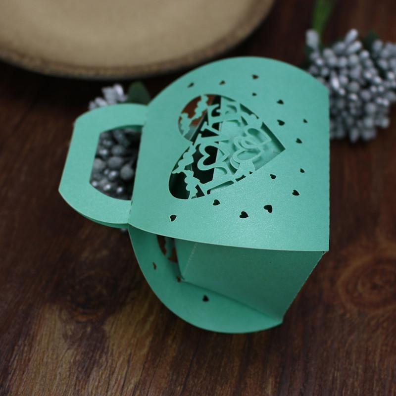 Wedding favor boxes baby shower gift boxes treasure box shape wed favor holders party supplies