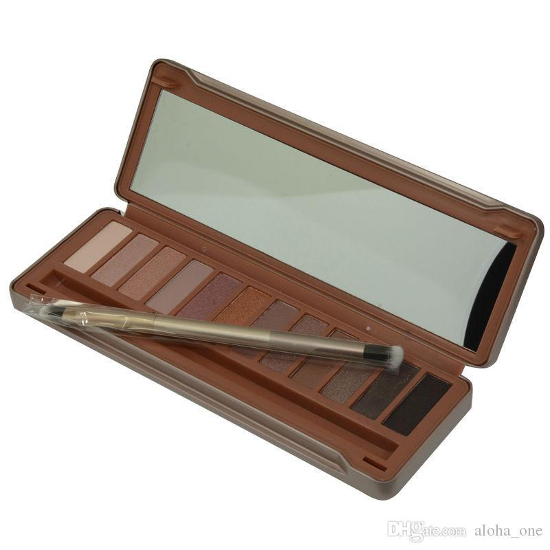 neueste Farben-Augenschminkepalette 15.6g des Verfassungs-Augenschattens NUDE 12 Qualitäts-NUDE 1.2.3.5.6.7.8 DHL geben Verschiffen frei