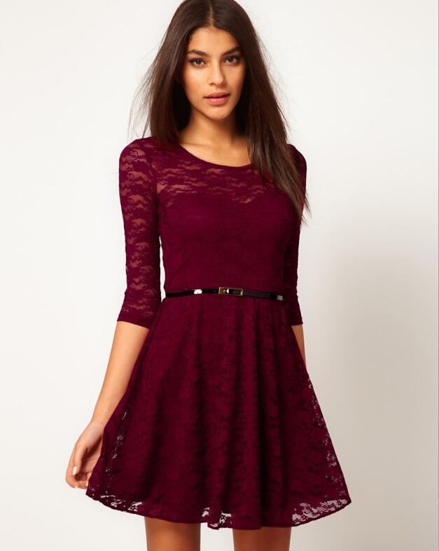 Women Clothes Plus Size S Xxl Lace Dresses Nice New Women Fashion