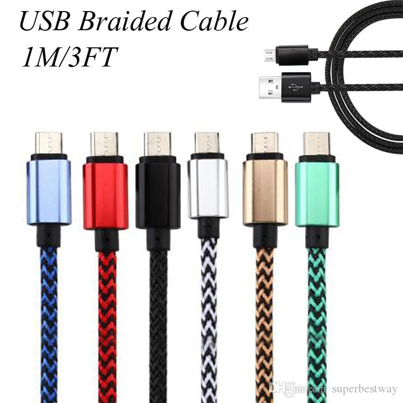 Rugged Bold Braided Usb Type C 3 1 To Usb 2 0 A Data
