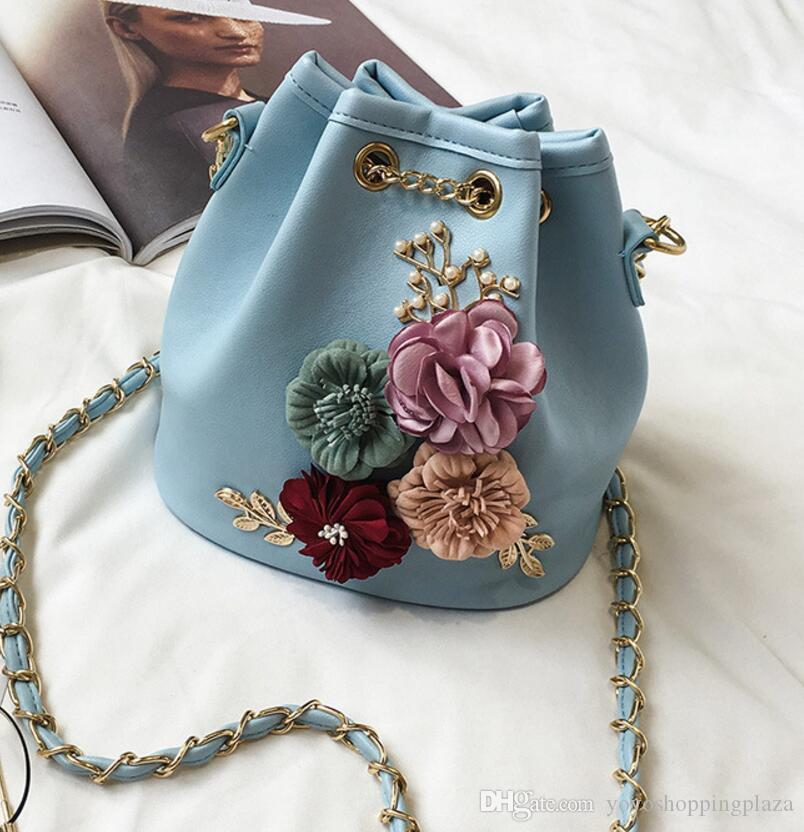 005f7e83f5 Sac Woman Bag Traditional New Arrival Flower Printed Traditional Fashion  Ladies Bucket Bag Purses For Sale Leather Purse From Yoyoshoppingplaza