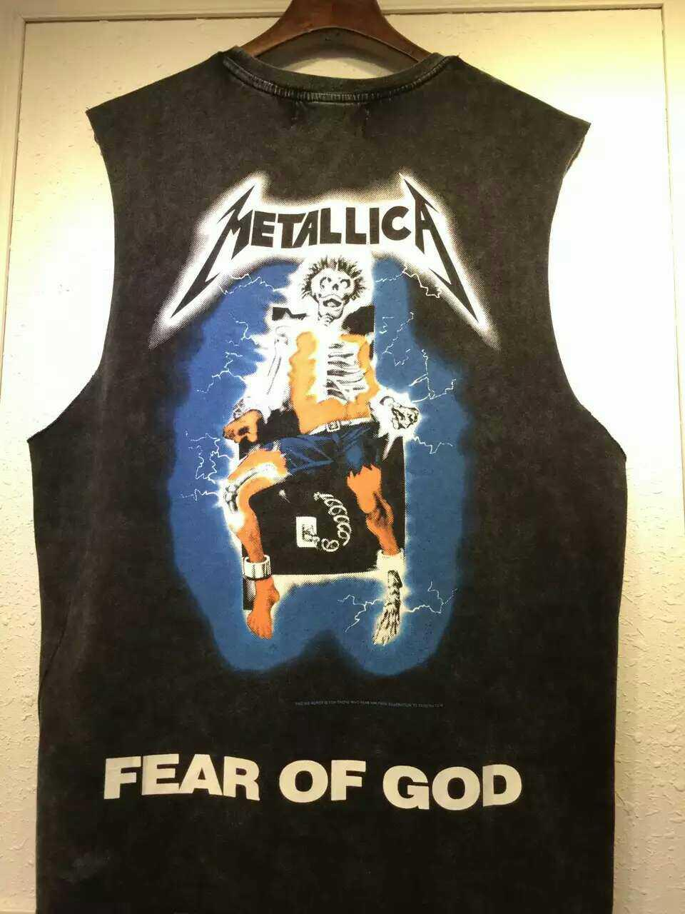 0b793127a42 High Quality Justin Bieber Concert T Shirts Metallica Mens Tee Shirts Black  Skull Thunder Men Printed