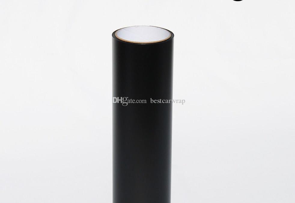 2 rollos / Lote Mate negro humo Faros de vehículos Tinte de cabeza Tinte película negro humo tinte Vinilo que cubre papel de aluminio tamaño 0.3x10m / Roll