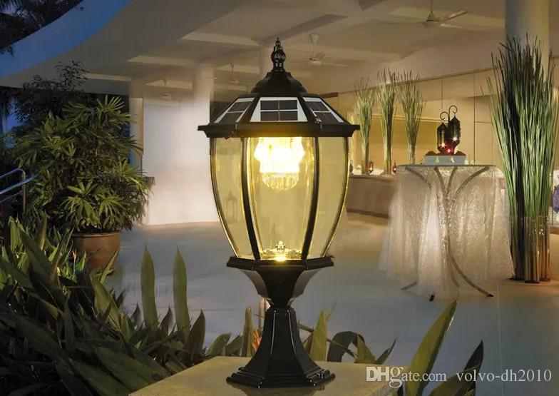 Lampade A Sospensione Allaperto : Acquista solar power post lanterna post all aperto luci super