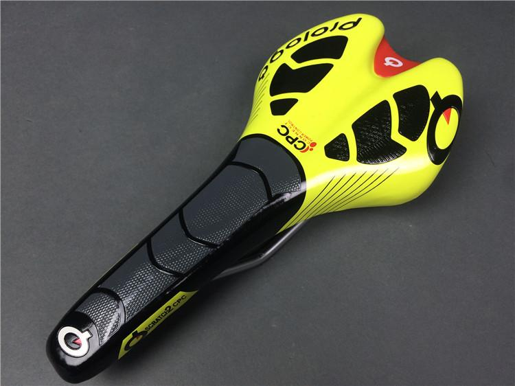Pro saddles MTB road bike saddle bicycle seat black white blue flo yellow red