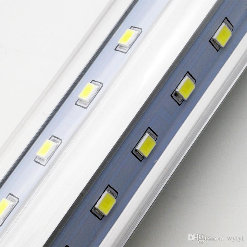 Rurki LED 4ft 28 W G13 T8 LED fluorescencyjna rura energia światła żarówki Lampa żarówki Lampa Przezroczysta pokrywa Darmowa Wysyłka 4FT UPS FedEx