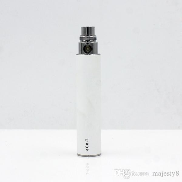 Wholesale Ego t Battery E Cigarette Ego Batteries for 510 Thread Vaporizer mt3 CE4 CE5 CE6 atomizer 650 900 1100mah 1300mah