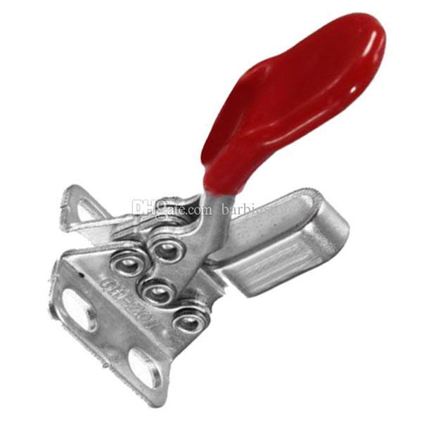60 파운드 Antislip 빨간색 플라스틱 덮여 핸들 수평 토글 클램프 GH-201 201A B00080 BARD