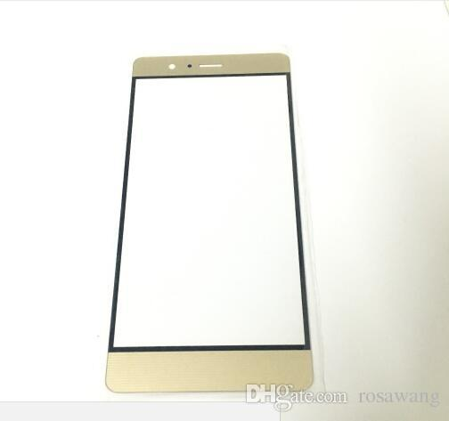 New Front Outer LCD Screen Glass For Huawei Ascend P9 Lite P9 P9 Plus VNS-L31 VNS-L21 VNS-L Replacement Part White/Black/Gold