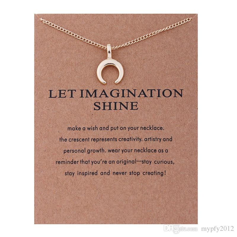New Fashion Gold Plated Jewelry Clavicle Chains Leaf Pearl Pendant Necklaces For Women 8 Designs Mix Statement Necklace
