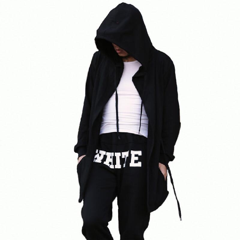 Compre Moda Para Hombre Sudaderas Con Capucha Y Hip Hop Capa Mangas