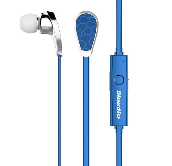 Original Bluedio N2 Bluetooth V4.1 Auricular inalámbrico en la oreja a prueba de sudor incorporado MIC auriculares manos libres envío rápido