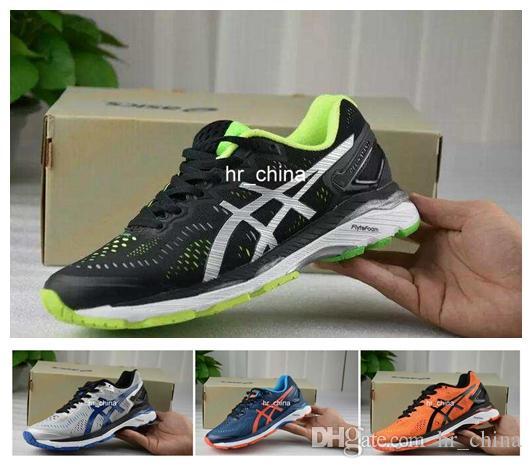 b0272b4614c41 Compre Descuento Asics Gel Kayano 23 Zapatillas De Deporte De Los Hombres  De Calidad Superior Acolchado Original Estabilidad Zapatos De Baloncesto  Botas ...