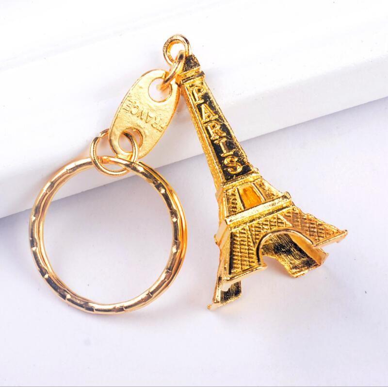 Vintage Eiffelturm Metall Schlüsselanhänger Schlüsselanhänger Paare Trinket Schlüsselanhänger Geschenk
