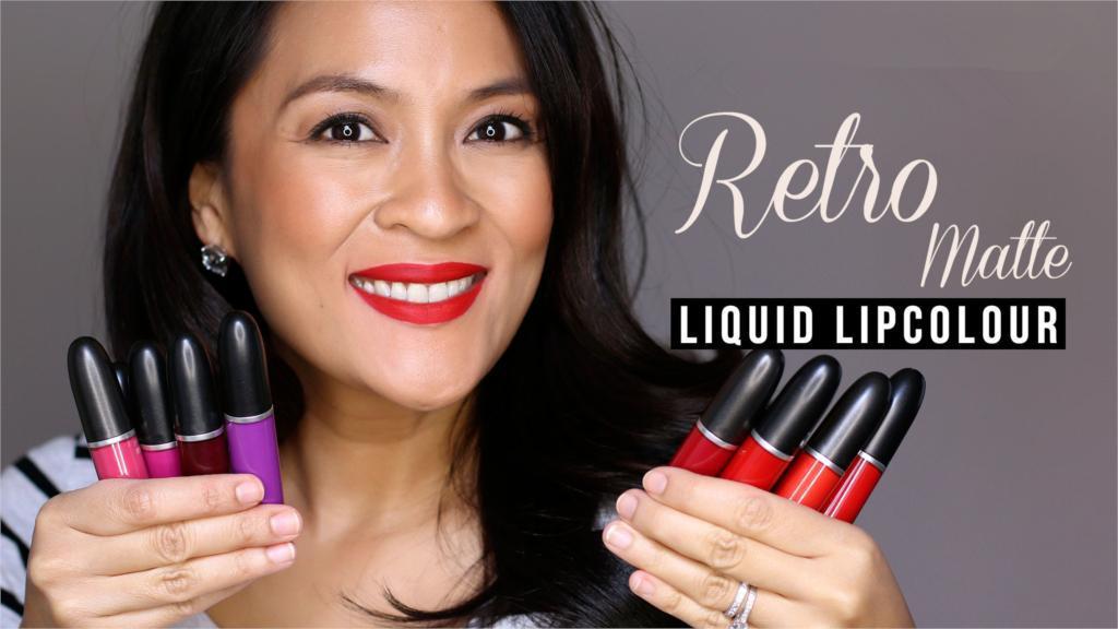 HOT NOUVEAU Maquillage Rétro Liquide Mat Lèvres Brillant À Lèvres 5ML 15 Couleur Haute Qualité DHL Livraison gratuite