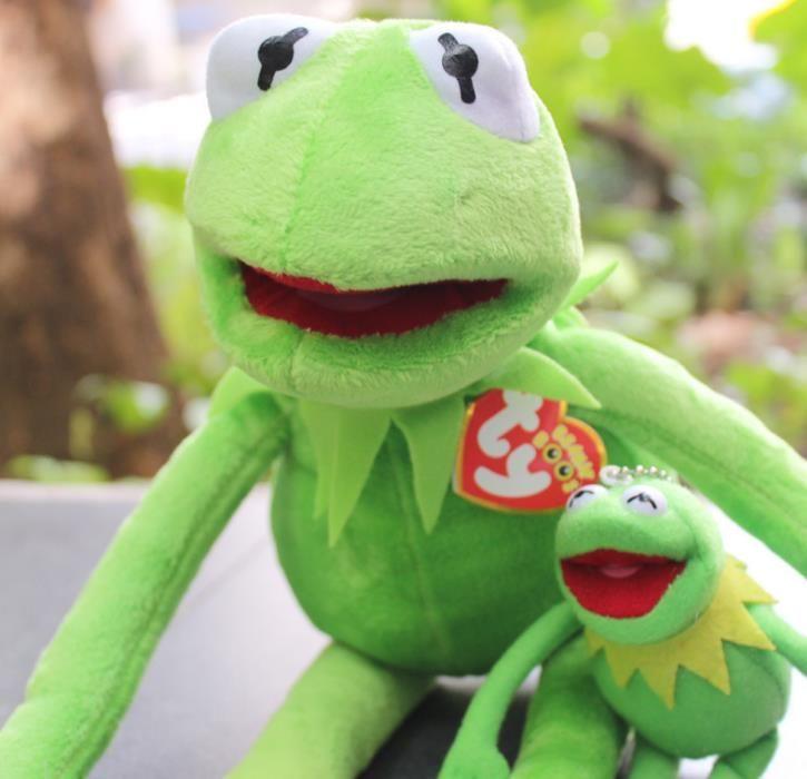 40 centímetros Kermit Plush Toys Sesame Street boneca de pelúcia Toy Kermit animal Plush Frog boneca