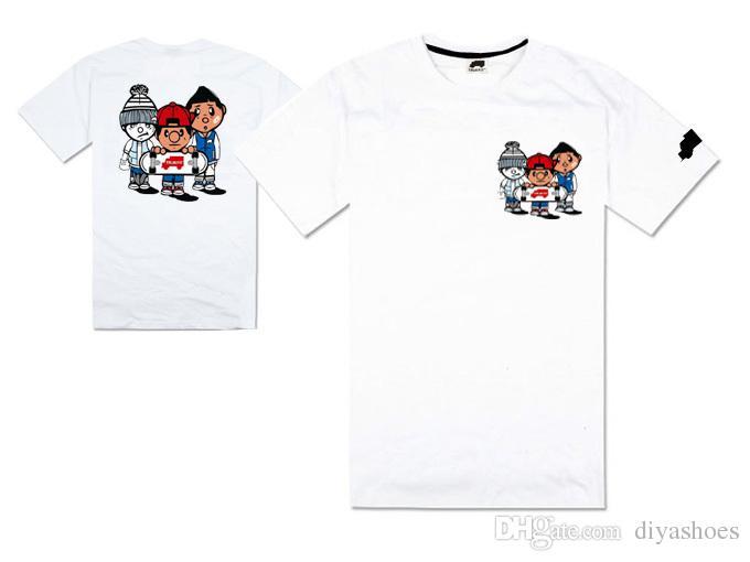 Verão nova chegada regular hip hop t-shirt do calor bandidos e diamantes homens e mulheres de manga curta 100% algodão boa qualidade plus size