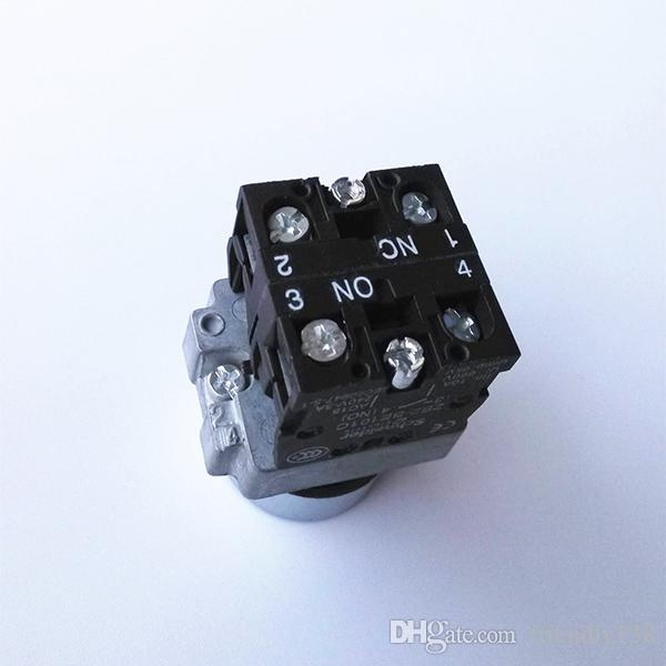 XB2-BA45 New Schneider 660V 10A Heavy duty 1NC 1NO momentary push button press switch High Quality