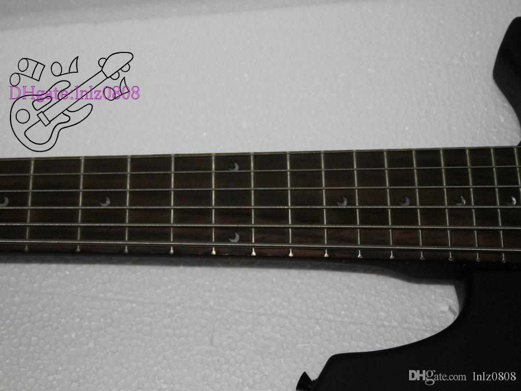 Custom 6 Strings Bass Music man Bass black Electric Bass Guitar guitar factory from china