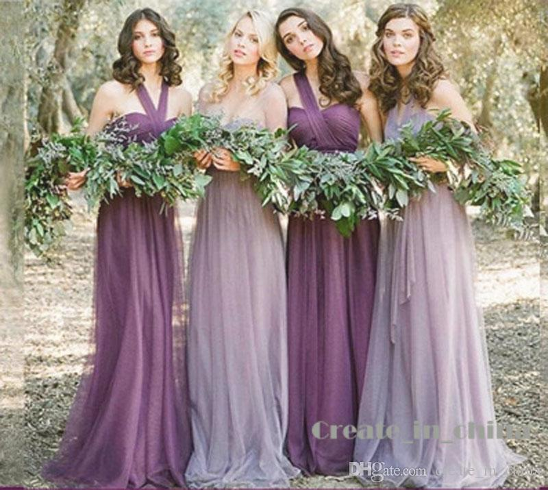 Bridesmaid Dresses Tulle Long Short Bridesmaid Dress Sister Group Dresses  Graduation Gown Five Colors Real Photo 2016 Hot Sell Baby Blue Bridesmaid  Dress ... 66584ab36ece