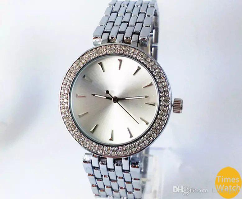 20% off 2019 Hot Top Selling Women Men Gold diamond wrist Relojes stainless steel rolse gold fashion watch